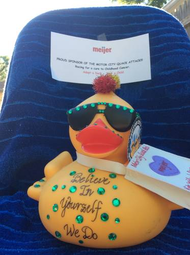Survey kids without cancer duck decorating for Motor city community credit union